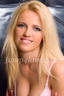 Ukrainian girl Julia,25 years old with blue eyes and blonde hair. Julia