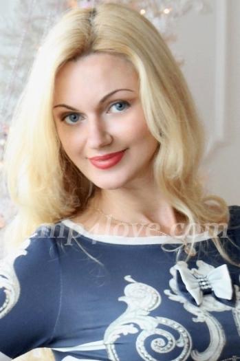 girl , years old with blue eyes and blonde hair. Svetlana