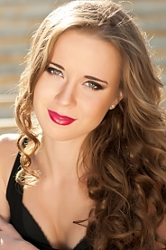 Ukrainian girl Julia,20 years old with blue eyes and blonde hair.