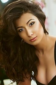 Ukrainian girl Sabina,24 years old with brown eyes and dark brown hair.