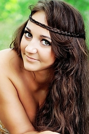 Ukrainian girl Maria,27 years old with green eyes and light brown hair.