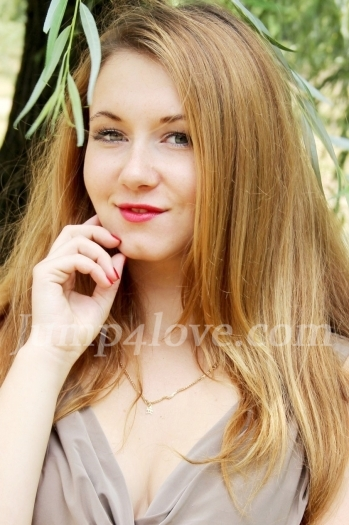 Ukrainian girl Anna,24 years old with green eyes and blonde hair. Anna