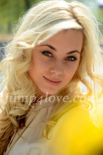 Ukrainian girl Inna,26 years old with green eyes and blonde hair. Inna