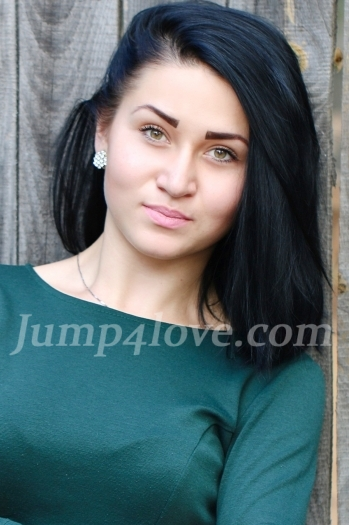 Ukrainian girl Valentina,22 years old with brown eyes and black hair. Valentina