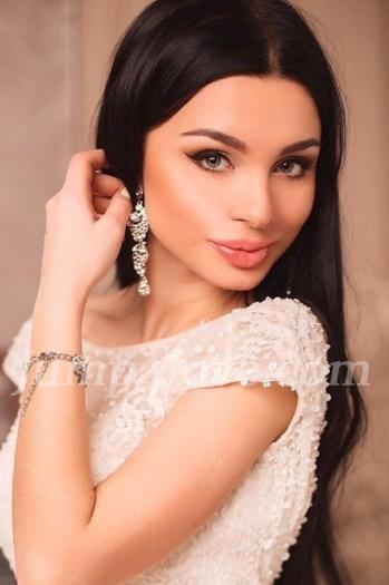 Ukrainian girl Stefaniya,21 years old with grey eyes and black hair. Stefaniya