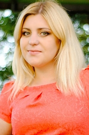 Ukrainian girl Tatyana,23 years old with brown eyes and blonde hair.